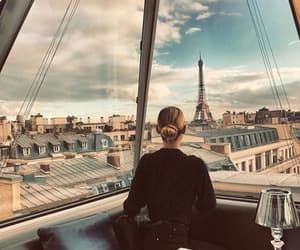 beautiful, girl, and paris image