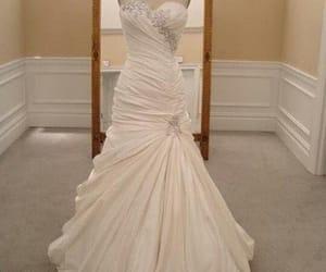 bridal, wedding dress, and bridal dress image