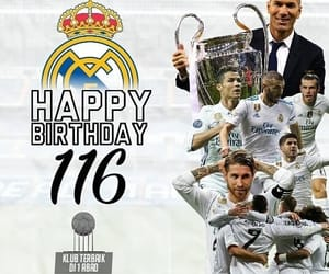 real madrid cf, happymadridday, and madridday image