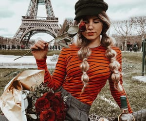braid, hair, and france image