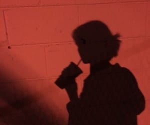 shadow, aesthetic, and red image