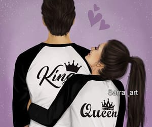 couple, king, and Queen image