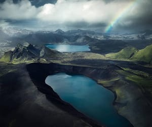 clouds, blue, and iceland image