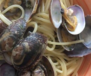 clams, italy, and italian food image