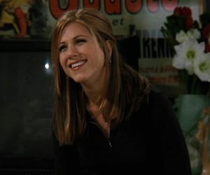 Jennifer Aniston, rachel green, and friends image