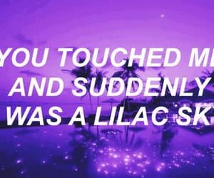 inspiring, lilac, and sky image