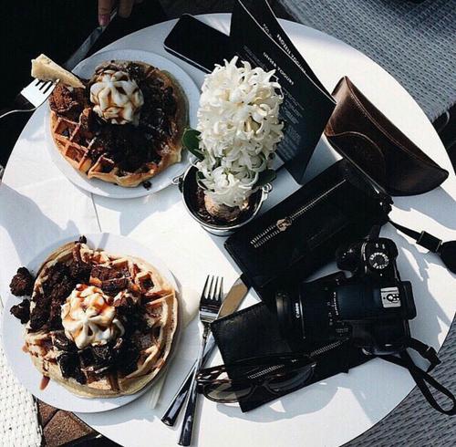 article, food breakfast energy, and healthy muesli pancakes image