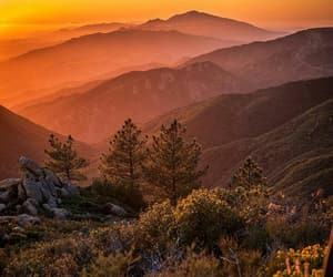 california, hippie, and mountains image