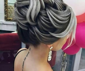 beauty, hair color, and fashion image