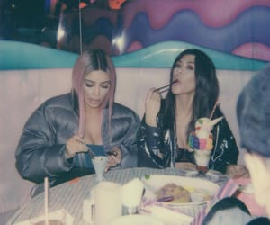 kim kardashian, kourtney kardashian, and sisters image