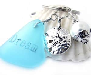 etsy, car accessories, and pearl keychain image