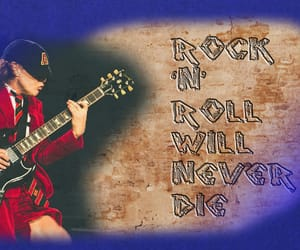 ac dc, hard rock, and roll image
