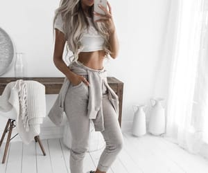 blonde, body, and fit image