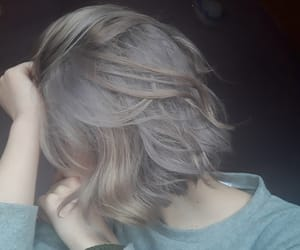 color, grey, and hair image