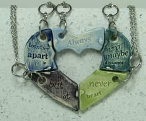 always together, friendship gift, and bridesmaid gift image
