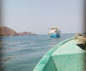 barco, mar, and santa marta image