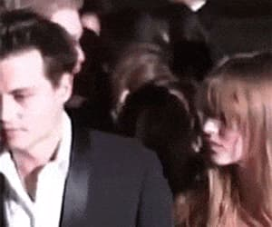 gif, johnny depp, and kate moss image