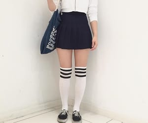 clothes, kstyle, and colegial image