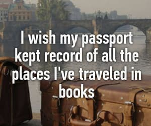travel and book. image