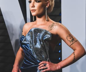 halsey, singer, and tattoo image
