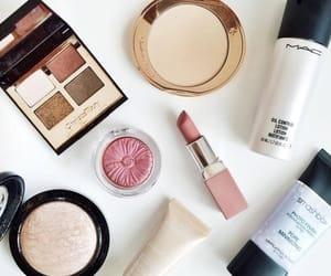 fashion, pink, and makeup image