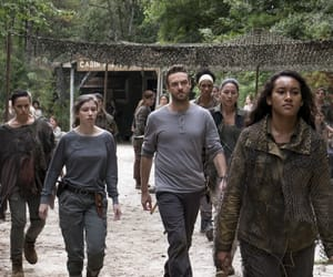 aaron, enid, and twd image