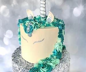 birthday, glow, and unicorn image