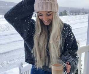 beauty, casual, and coffee image
