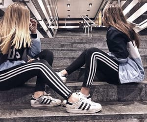 adidas, bff, and fashion image