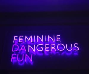 neon, quotes, and neon sign image