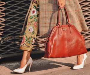 bag, fashion, and heels image