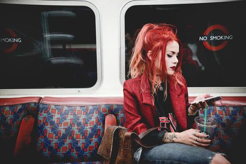 fashion, grunge, and le happy image