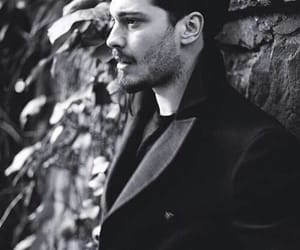 cagatay ulusoy, black and white, and icerde image