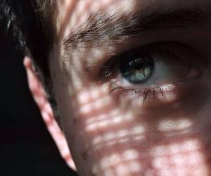 boy, eye, and blue image