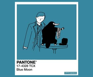 pantone and blue moon image