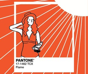 flame and pantone image