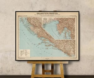 old map, historical map, and dalmatia map image