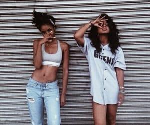 fashion, girl, and squad image