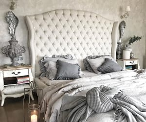 bedroom, interior, and decoration image