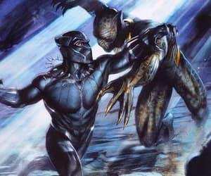 black panther, Marvel, and michael jordan image