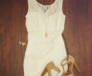 accessories, jewelry, and dress image