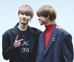 jun, Seventeen, and minghao image