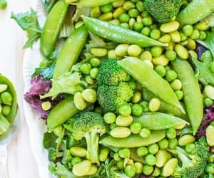 recipe, salad, and vegan image
