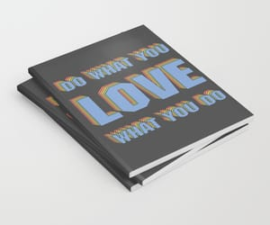 advice, typography, and colorful image