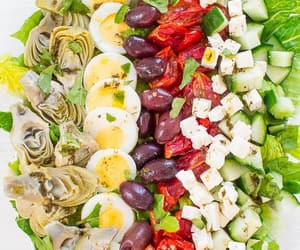 food, recipe, and salad image