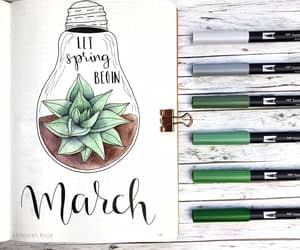 art, march, and bujo image