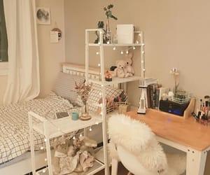bedroom, dorm, and minimalistic image