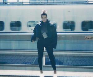 kim kardashian, fashion, and girl image