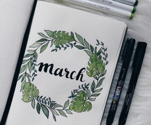 green, march, and spring image
