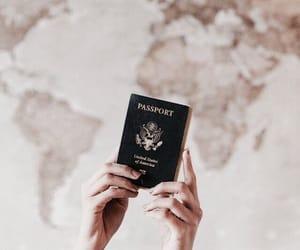 passport, travel, and traveling image